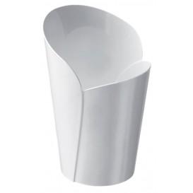 "Plastic Tasting Cup PS ""Blossom"" White 90ml (15 Units)"