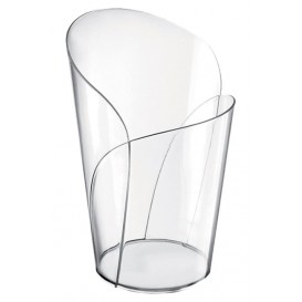 "Plastic Tasting Cup PS ""Blossom"" Clear 90ml (15 Units)"