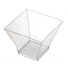 "Plastic Tasting Cup PS ""Pagoda"" Clear 65ml (25 Units)"