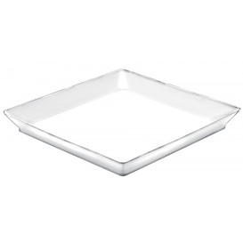 Tasting Tray PS Medium size White 13x13 cm (12 Units)