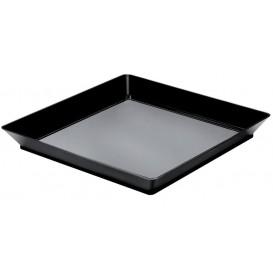Bandeja Degustación Medium Negro 13x13 cm (192 Unidades)