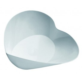 "Tasting Plastic Bowl PS ""Lovers"" White 30ml (25 Units)"
