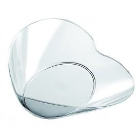 "Tasting Plastic Bowl PS ""Lovers"" Clear 30ml (25 Units)"
