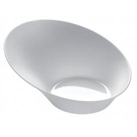 "Tasting Plastic Bowl PS ""Sodo"" White 50 ml (50 Units)"