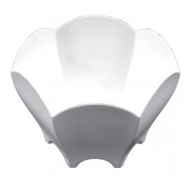 "Tasting Plastic Bowl PS ""Tulip"" White 70 ml (25 Units)"