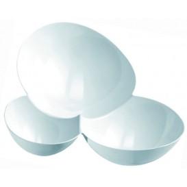 """Tasting Plastic Bowl PS """"Molecola"""" White 100ml (500 Units)"""