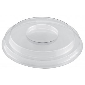 """Plastic Lid for Tasting Bowl PS """"Small Size Style"""" Clear PET 150ml (12 Units)"""