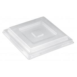 "Plastic Lid for Tasting Bowl PS ""Pagoda"" Medium Size Clear PET 200 ml (480 Units)"
