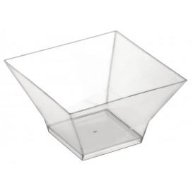"Tasting Plastic Bowl PS ""Pagoda"" Clear 350ml (12 Units)"
