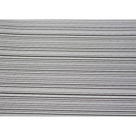 "Pre-Cut Paper Tablecloth ""Basic Black"" 37g 1x1m (400 Units)"