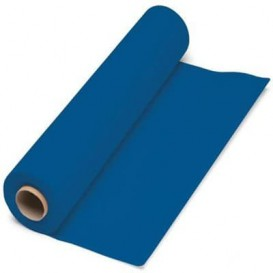 Paper Tablecloth Roll Blue 1x100m. 40g (1 Unit)