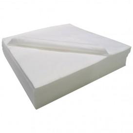 Disposable Airlaid Towel for Hair Salon White 40x90cm 50g/m² (25 Units)