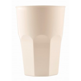Plastic Cup for Cocktail PP White Ø8,4cm 350ml (20 Units)