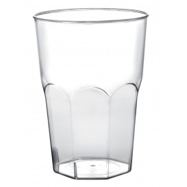 Plastic Cup for Cocktail PP Clear Ø8,4cm 350ml (20 Units)