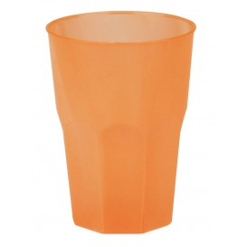 "Plastic Cup PP ""Frost"" Orange 350ml (420 Units)"