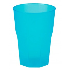 """Plastic Cup PP """"Frost"""" Turquoise 350ml (20 Units)"""