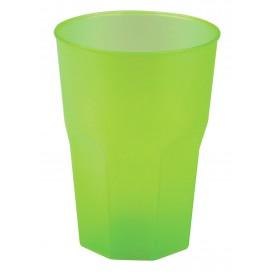 "Vaso de Plastico ""Frost"" Verde Lima PP 350ml (20 Uds)"