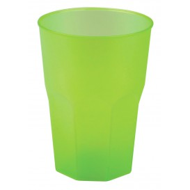 "Vaso de Plastico ""Frost"" Verde Lima PP 350ml (200 Uds)"