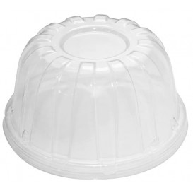 Plastic Dome Lid PS Clear Ø11,7cm (500 Units)