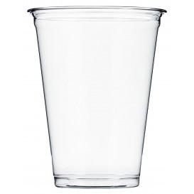 Plastic Cup PET Rigid 295ml Ø8,1cm (50 Units)