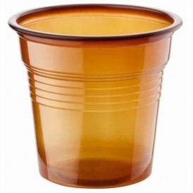 Plastic Shot PS Brown 80ml Ø5,7cm (50 Units)