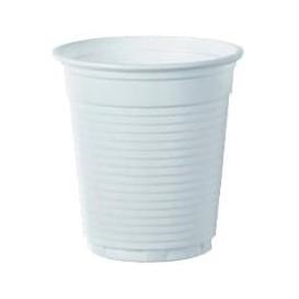 Plastic Cup PS White 166ml Ø7,0cm (100 Units)