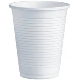 Plastic Cup PS White 200ml Ø7,0cm (3000 Units)