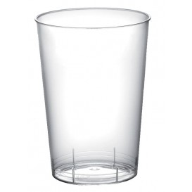 "Plastic PS Shotje ""Moon"" transparant 100 ml (50 eenheden)"