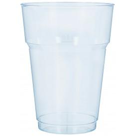 Plastic Pint Glass PS Clear Crystal 200 ml (1.000 Units)