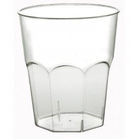 Plastic beker Cocktail PS transparant Ø7,3cm 200ml (50 eenheden)