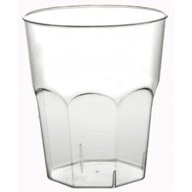 Plastic beker Cocktail PS transparant Ø7,3cm 220ml (50 eenheden)