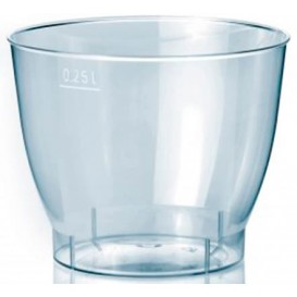"""Plastic Cup PS Injection Moulding """"Cool Cup PS"""" 250 ml (750 Units)"""