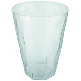 """Plastic Cup PS """"Ice"""" Clear Crystal 410 ml (20 Units)"""