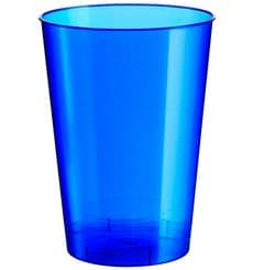 "Plastic Cup PS ""Moon"" Blue Pearl 230ml (1000 Units)"