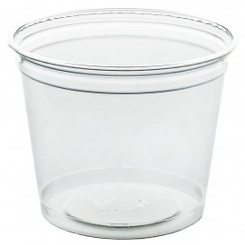 Plastic Cup PET Rigid 215ml Ø8,1cm (50 Units)