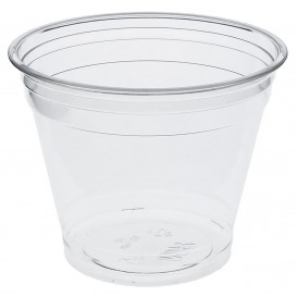 Plastic Cup PET 265ml Ø9,5cm (50 Units)
