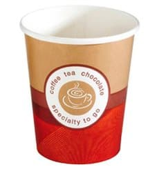 """Paper Cup """"Specialty to Go"""" 9 Oz/270ml Ø8,0cm (50 Units)"""