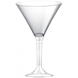 Plastic Stemmed Cup Clear Clear 185ml 2P (40 Units)