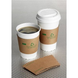 Lid for Cup Hole 6 and 8 Oz White Ø7,9cm (1000 Units)
