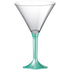 Plastic Stemmed Glass Cocktail Tiffany Pearl 185ml 2P (200 Units)