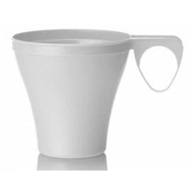 Plastic Cup White 80ml (1200 Units)