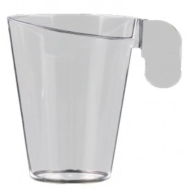 "Plastic Cup ""Design"" Clear 155ml (12 Units)"