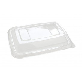 "Plastic Lid PET for ""Vision"" Container 16,5x23cm (75 Units)"