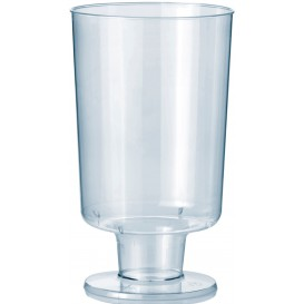 Plastic Stemmed Glass 150ml 1P (12 Units)