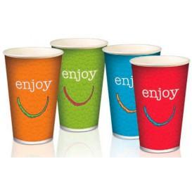 "Paper Cup ""Enjoy"" 32 Oz/1000 ml Ø11,2cm (50 Units)"
