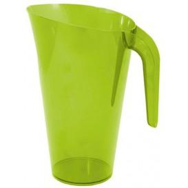 Plastic Jar PS Reusable Green 1.500 ml (1 Unit)