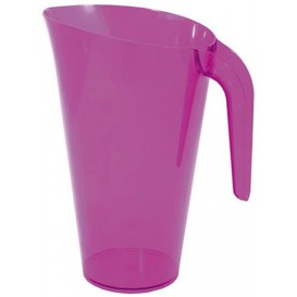 Plastic Jar PS Reusable Eggplant 1.500 ml (1 Unit)