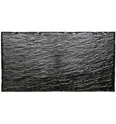 Plastic Tasting Platter Synthetic Slate PS 30x15,8cm (100 Units)