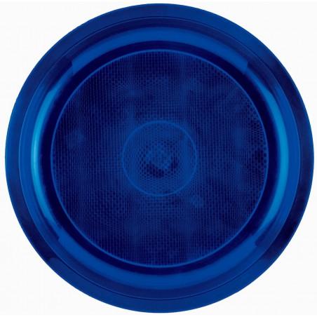 Plato de Plastico Azul Round PP Ø290mm (150 Uds)