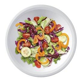 "Plastic Plate Deep White ""Round"" PP Ø19,5 cm (600 Units)"